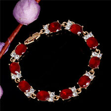 Fashion Jewelry 18k Yellow Gold Plated Austrian Crystal Magnetic Bracelet