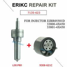 7135-623 Kit Nozzle L281PBD+Valve 9308-621C for Hyundai KIA Injector EJBR05501D
