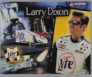 Larry Dixon Handout Card NHRA Racing Top Fuel Dragster Photo Hero Hand Out 2000