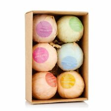 Bath Bombs Ball 6Pcs Body Spa Moisturize Essential Oil Organic Handmade Soaps
