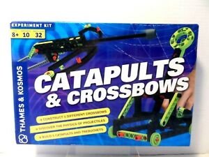 Thames & Kosmos Catapults & Crossbows Science Experiment & Building Kit  NEW