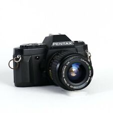 ^Pentax P3n 35mm SLR Film Camera Body - Black w/ Ozunon MC 35-70mm f3.5-4.5 Lens