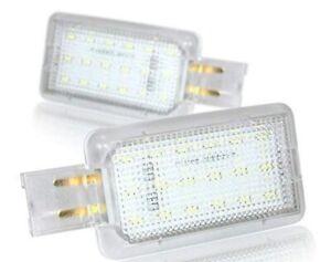 SMD 2x LED Kofferaum Kofferraumbeleuchtung für MITSUBISHI ASX CAN-Bus 6000K A539