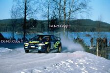 Kenneth Eriksson Subaru Impreza WRC 97 Winner Swedish Rally 1997 Photograph 2