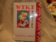 Vtg Wiki of Walpi  by Theresa Kalab Smith / Navajo Boy 1954 HC DC Lib. Discard