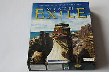 Myst III EXILE (PC-MAC) come nuovo scatola box/BIG BOX