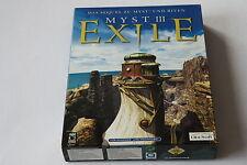 Myst III Exile   (PC-MAC)   Neuwertig     Karton Box / Big Box