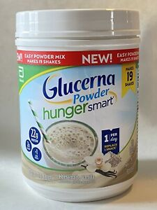 Glucerna Hunger Smart Homemade Vanilla Powder 22g Protein- 22.3oz - Exp 04/2022