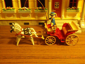 Playmobil 7261 Horse And Carriage set Pink