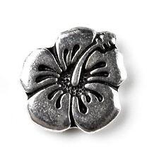 Hibiscus Flower Lapel Pin