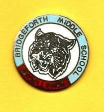 Pin's Lapel pin pins BRIDGEFORTH MIDDLE SCHOOL EXCELLENCE TENNESSEE Tigre Tiger