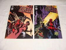 Batman Hellboy Starman #1 & #2 Complete/Full Set NM- Mike Mignola James Robinson