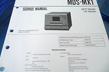 Service Manual-Anleitung für Sony MDS-MX1  ,ORIGINAL!