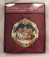 New Winter at Biltmore Christmas Ornament 2008 Original Box