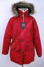 NWT Abercrombie & Fitch Men's Red Parka Coat (Originally $280) Size XL