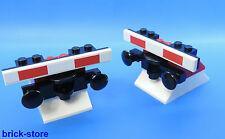LEGO FERROVIA Fermata di Tampone nr.7 / rosso con tampone / 2 pezzi