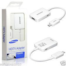 ADATTATORE CAVO HDTV MHL 2.0 Originale per SAMSUNG GALAXY S5 S4 NOTE 3 HDMI TV