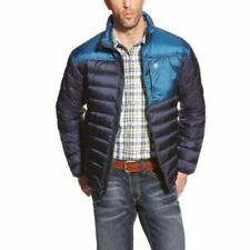 Abrigos y chaquetas de hombre azul plumón