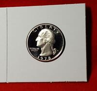 1978-S MINT ULTRA DEEP CAMEO WASHINGTON QUARTER PROOF SATISFACTION GUARANTEED!!