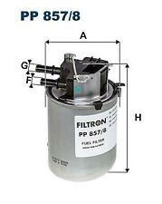 Fuel Filter PP857/8 for Nissan 16400BB51A 16400BB50A