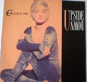 """COLLETTE - 12""""45 - """"UPSIDE DOWN"""" - 1990 CBS PROMO"""