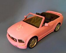 Barbie High School Musical Pink Car Mustang Convertible Fabulus Mattel 2005