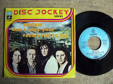 Smokie - Don't play your rock'n roll to me / Talking her round      45 giri