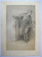 """MICHELANGELO 1970 Lithograph """"STUDY FOR AN ANNUNCIATION"""""""