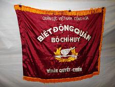 flag80 Vietnam Vietnamese RVN flag Ranger Biet Dong Quan Bo Chi Huy machine emb