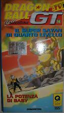 VHS - DE AGOSTINI/ DRAGON BALL GT - VOLUME 18 - EPISODI 2