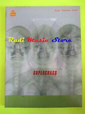 SPARTITO SUPERGRASS GUITAR TABLATURE VOCAL 2000 england IMP cd mc dvd lp (*)