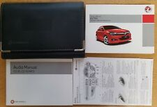 VAUXHALL ASTRA OWNERS MANUAL HANDBOOK WALLET 2004-2010 PACK B-398