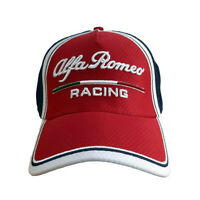 Sale! Alfa Romeo Racing F1 Team Baseball Cap Formula One Hat Red Adults One Size
