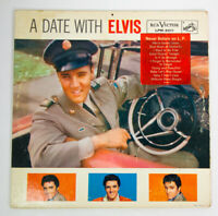 A Date with Elvis by Elvis Presley Vinyl Rare Hollywood 1959 RCA Victor