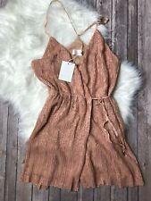 The Jetset Diaries Gabrielle Mini Wrap Dress NWT Medium