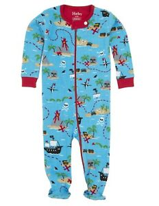 Hatley Baby Footed Coverall Treasure Island Sleepsuit 0-3 Months