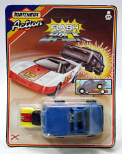 RARE VINTAGE 1987 MATCHBOX ACTION FLASH BACK FERRARI NEW MOSC !