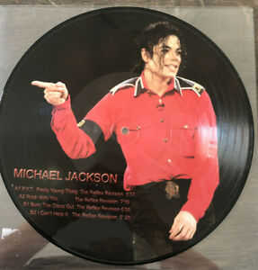 """Michael Jackson P.Y.T. Pretty Young Thing Vinile Vinyl 12"""" Picture Limited NEW"""