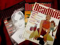 Tankgirl Original Appearances Deadline Magazines 1980s /90s BritPop Vintage Rare