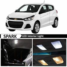 White Interior LED Lights Package for 2013-2016 Chevy Spark