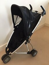 Quinny Zapp Single Seat Stroller - Black, Fully Folding Frame and Rain Cover