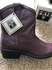 Frye Girls Size 3 Carson Shortie Purple Boot New