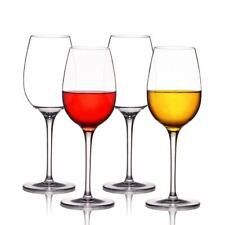 Unbreakable Stemless Wine Glasses Goblet Shatterproof Tritan Wine Glass BPA 12OZ