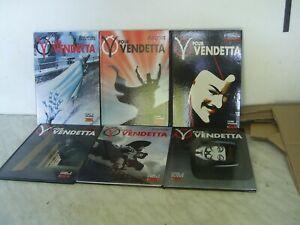 V pour Vendetta, bande dessinée, lot de 6 BD  Alan Moore, David Lloyd