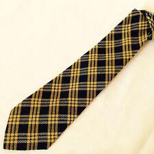 MOSCHINO Cravatta Tie Original 50% Seta Silk 50% Lana Wool Made In Italy NEW
