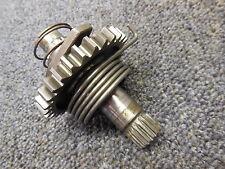 1994 Suzuki RM250 Kick starter shaft gear assembly