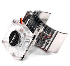 INTT8074SILVER integy Motor Heatsink w/ CoolFan Slash 2WD / Rustler / Stampede