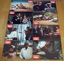FEUERBALL - JAMES BOND 007 (Abreissfotosatz mit 8 Fotos '72) - SEAN CONNERY