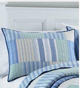 New (2) Nautica Home Collection Standard Belle  Quilt Pillow Shams
