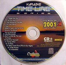 Chartbuster Karaoke - CB80032 CDG  Vol. 2   (Best Of 2001 Female Pop)